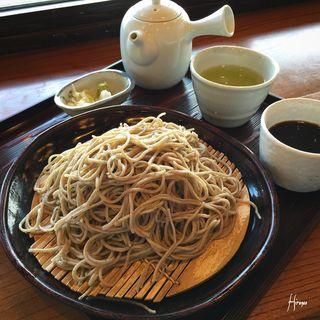 ざる蕎麦(不生庵茜舎 )