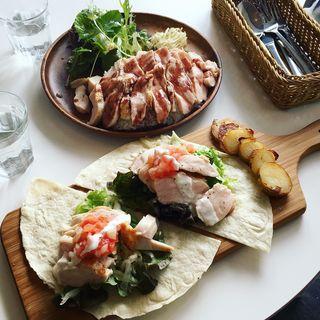 Bon特製ChickenRice(Roast Chicken&M.C.Cafe Bon (ボン))