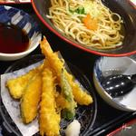 海老天ぷらうどん