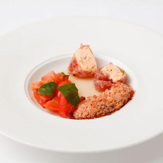 鮮魚のフリット トマト煮込み(Amrit (アムリット))