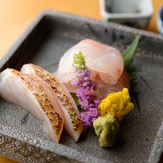 鮮魚のお造り(小いわ)