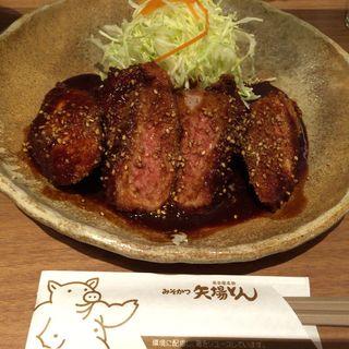 味噌ヒレ定食(矢場とん 東京KITTE GRANCHE店 (やばとん))