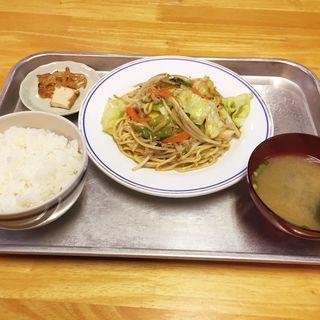 夕定食(ふじや食堂)