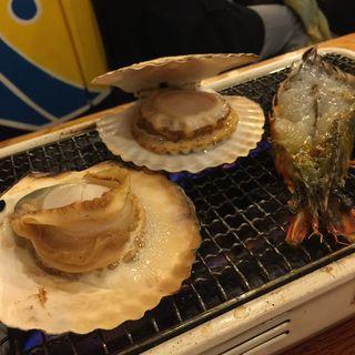 帆立の殻焼き(磯丸水産 錦糸町店 )