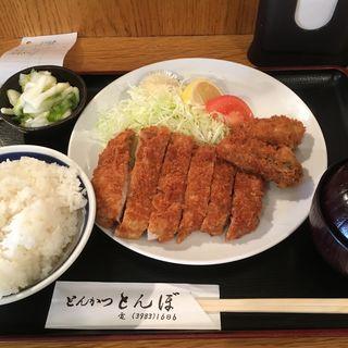 ロースかつ定食(とんぼ )
