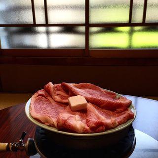 すき焼き(牛銀本店)