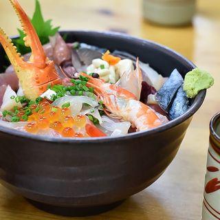海鮮丼(おかもと鮮魚店  )