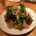 炙りブリの香草サラダ