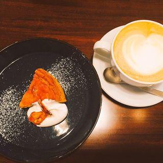 カプチーノ エスプレッソチーズケーキ