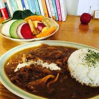 季節のカレー(牛すじ)(citta)