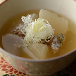 アワビと大根の煮付け(京料理 四季cafe (キョウリョウリ シキカフェ))
