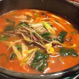 テグタン麺(焼肉慶州苑 )