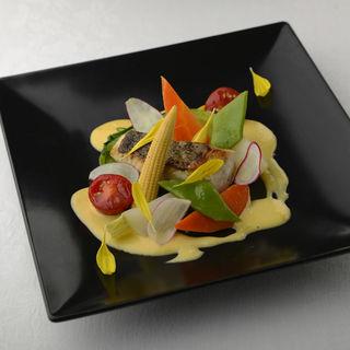 鰆のグリル 温野菜(日比谷パレス )