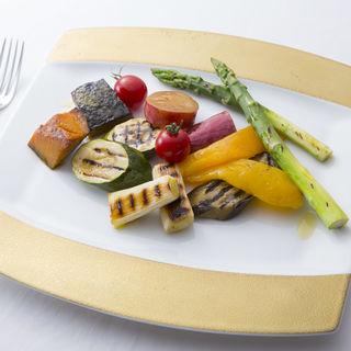グリル野菜(ビランチャ 北浜本店 )
