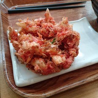 かきあげ(桜えびキャベツ)(天つるり (pasar幕張(下り線)))