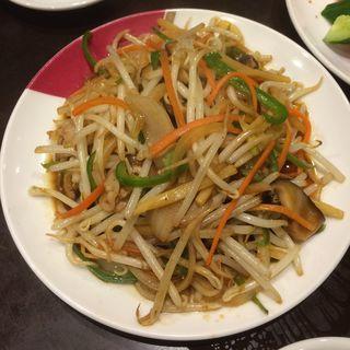 野菜炒め(味園 泉店 (あじえん))