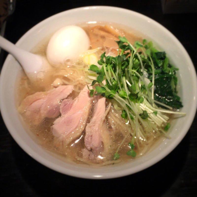 塩生姜らー麺