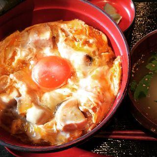 究極の親子丼(軽井沢 鶏味座)