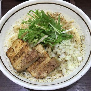 クリーミー胡麻まぜそば(濃厚担々麺はなび 半田店 (【旧店名】はるひ))