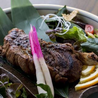 豚肉のグリル(日本料理桐壺)