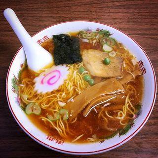 醤油ラーメン(食堂 多万里)