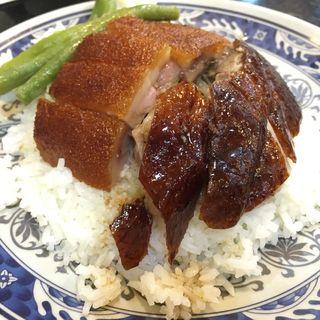 燒鵝乳猪飯(強記飯店)