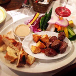 クリーミーチーズフォンデュ(横浜チーズカフェ (ヨコハマチーズカフェ))