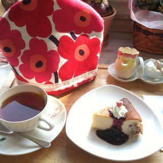 くるみとブルーベリーのチーズケーキ(パトリ cafe/market (パトリ カフェ マーケット))