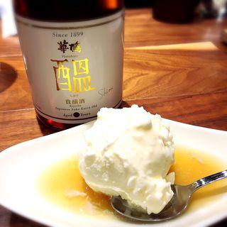 バニラアイス貴醸酒がけ(コバチ咖喱 )