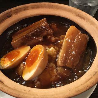 角煮のせあんかけ飯(万豚記 飯倉店 )