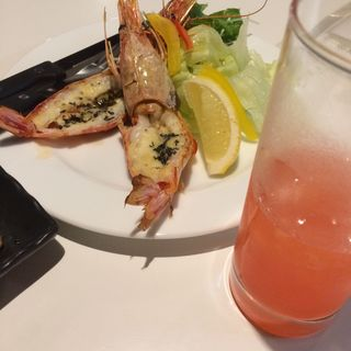 赤海老のグリル(Dining Kitchen Derico (デリコ))