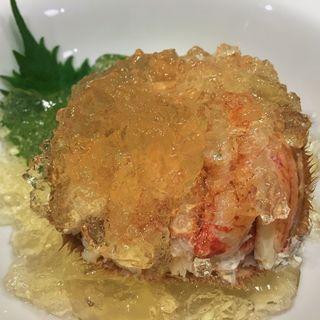 毛蟹ジュレかけ(太閤Hiroshima)