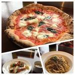 シェアセット 水牛モッツァレラと完熟トマトのピザ