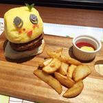 ふなっしーバーガー(THE GUEST cafe&diner 福岡パルコ店)