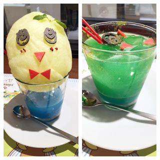 イリュージョンソーダ(THE GUEST cafe&diner 福岡パルコ店 (ザ ゲスト カフェアンドダイナー))