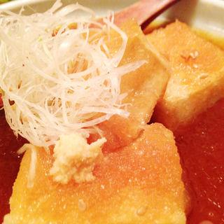 揚出し豆腐(木ノ下 )
