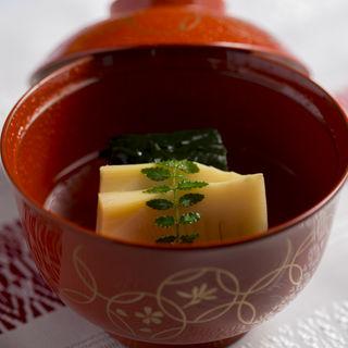 筍の筑前煮(博多石焼 大阪屋 (はかたいしやき おおさかや))