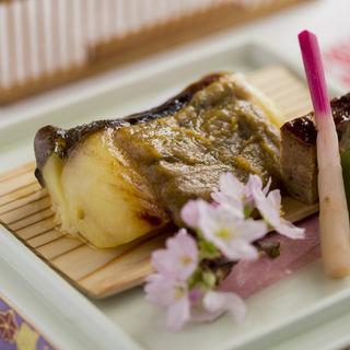 サバのグリル 味噌和え(博多石焼 大阪屋 (はかたいしやき おおさかや))