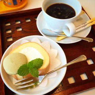 ロールケーキ(城崎マリンワールド カフェ&レストラン テラス )