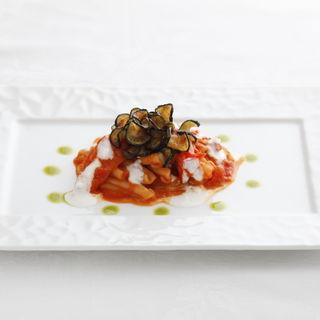 茄子とチーズのトマトパスタ (アンジェロコート東京 )
