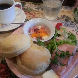 イングリッシュマフィン モーニングセット(ティーハウス サラ (Tea House SARAH))