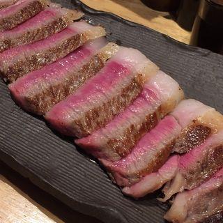 黒毛和牛サーロインステーキ(鉄板焼いいさいいさ )