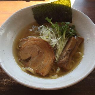 魚介塩ソバ(ラーメン和なり )