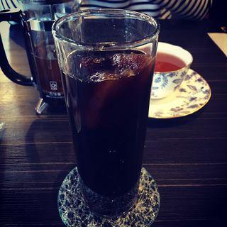 アイスコーヒー(いやしの空間 さとう珈琲 本店)