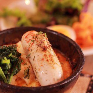 ソーセージの焼きカレー(cafe nei )