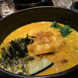 焼きチーズカレー坦々麺(ユタの店 )