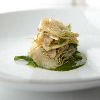 筍のグリル(レストラン レカイヨ銀座)