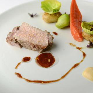豚肉のグリル(レストラン レカイヨ銀座)