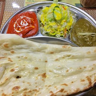 カシミールセット(インド料理ラム 水戸本店 )