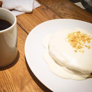 マカダミアナッツクリームパンケーキ(ホノルルコーヒー アリオ橋本店 (HONOLULU COFFEE))